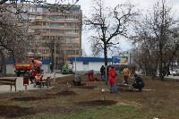 Закладка вишнёвого сада в Заречье 18 апреля 2015 года, Фото: 52