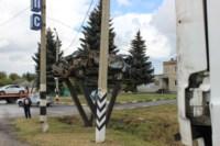 Возле поста ДПС в Плавске столкнулись три иномарки и фура, Фото: 19
