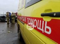 В страшном ДТП под Тулой погибли два человека, Фото: 15