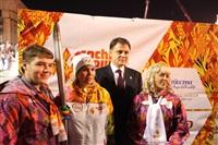 Третий этап эстафеты олимпийского огня: проспект Ленина, Фото: 81