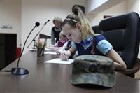 Тульские омоновцы провели конкурса детского рисунка, Фото: 1