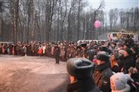 В ЦПКиО сожгли чучело зимы, Фото: 30