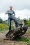 Туляк Виталий Галеев придумал сегвей на гусеницах, Фото: 22
