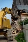 В Плеханово начали сносить дома в цыганском таборе, Фото: 62