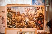 Александр Немцов рассказал об истории картины с Путиным, Богородицей и Николаем II, Фото: 11