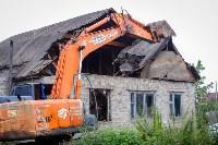 В Плеханово убирают незаконные строения, Фото: 7