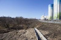 Туляк засыпал ручей, 12 колодцев и 4 канализационных люка, самовольно строя дорогу, Фото: 3