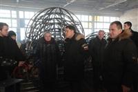 Владимир Груздев в Дубенском районе. 30 января 2014, Фото: 27