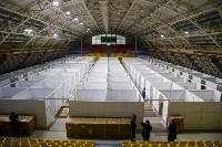 В Туле в манеже «Арсенала» завершается монтаж госпиталя для больных коронавирусом, Фото: 9