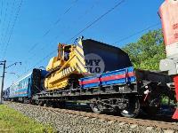 В Тульской области грузовой поезд сошел с рельсов, Фото: 30