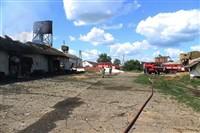 Пожар на хлебоприемном предприятии в Плавске., Фото: 24