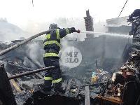Пожар возле Тульского цирка, Фото: 2