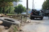 На Рязанке столкнулись две легковушки и грузовик, Фото: 2