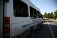 Авария на повороте на Косую Гору: микроавтобус и грузовик, Фото: 4