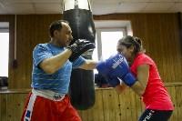 Женский бокс: тренировка , Фото: 19