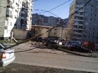 Поваленное дерево на ул.Октябрьской, Фото: 3