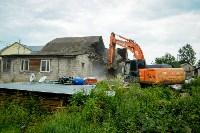В Плеханово убирают незаконные строения, Фото: 46