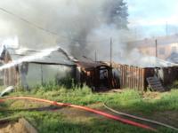 В Киреевске сгорели 40 сараев, Фото: 1