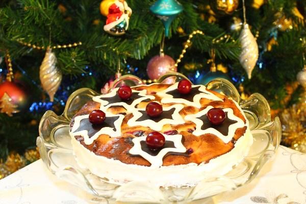 """Торт """"Зимняя вишня"""". Для любителей шоколада и вишни."""