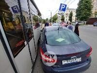 ДТП с трамваем в центре Тулы, Фото: 4