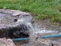 Засор в канализационном колодце в районе дома №2-Д по ул. Гарнизонный проезд, Фото: 1