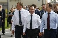 Дмитрий Медведев посетил Тулу с рабочим визитом, Фото: 2
