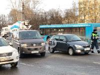 На проспекте Ленина произошло массовое ДТП, Фото: 3