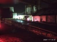 В Ясногорске загорелся склад для хранения зерна, Фото: 3