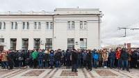 Открытие экспозиции в бронепоезде, 8.12.2015, Фото: 4