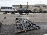 Туляк отвлекся во время движения и насадил Audi Q7 на забор, Фото: 4