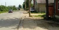 В Привокзальном округе Тулы выполняется ремонт тротуаров, Фото: 11