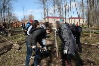 Посадка деревьев в Комсомольском парке, Фото: 29
