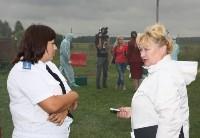 Сотрудники МЧС и Роспотребнадзора учились ликвидировать очаг сибирской язвы, Фото: 15