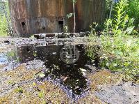 В Пролетарском районе Тулы ликвидируют разлив мазута, Фото: 2