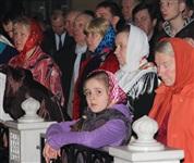 Пасхальная служба в Успенском соборе. 20.04.2014, Фото: 13