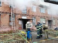 На улице Металлургов в Туле загорелась квартира , Фото: 3