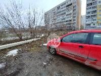 В Туле Mercedes повалил фонарный столб, Фото: 14