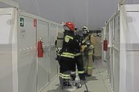 В Туле сотрудники МЧС эвакуировали госпитали госпиталь для больных коронавирусом, Фото: 31