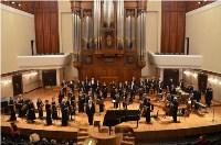 Оркестр Новомосковского музыкального колледжа выступил с концертом в Казани, Фото: 1