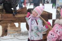 Как туляки провожали зиму на набережной Упы, Фото: 48