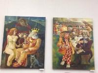 выставка тульского художника, пропавшего в Кармадоне с Сергеем Бодровым, Фото: 6