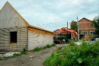 В Плеханово убирают незаконные строения, Фото: 62