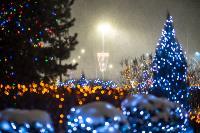 В Туле ночью бушевал буран, Фото: 12