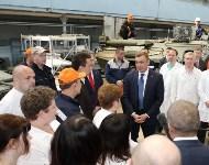 Алексей Дюмин посетил ПАО  «НПО «Стрела», Фото: 15