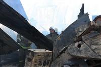 Пожар на хлебоприемном предприятии в Плавске., Фото: 23