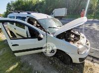 В серьезном ДТП под Тулой пострадали шесть человек, Фото: 11
