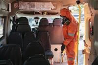 Дезинфекция транспорта в Туле, Фото: 4