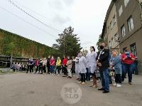 В Туле сотрудники МЧС эвакуировали госпитали госпиталь для больных коронавирусом, Фото: 62