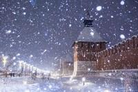 Вечерний снегопад в Туле, Фото: 25