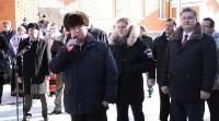 Владимир Груздев и руководители Фонда содействия реформированию ЖКХ в Кимовске , Фото: 15